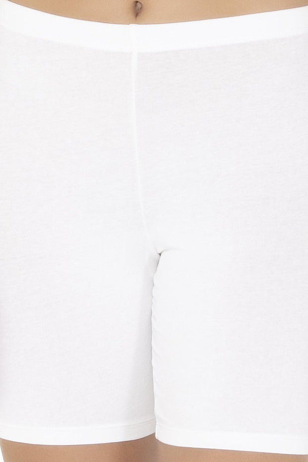 Cotton Shortie-White Color