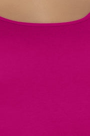 Cotton Camisole-Fuchsia Color