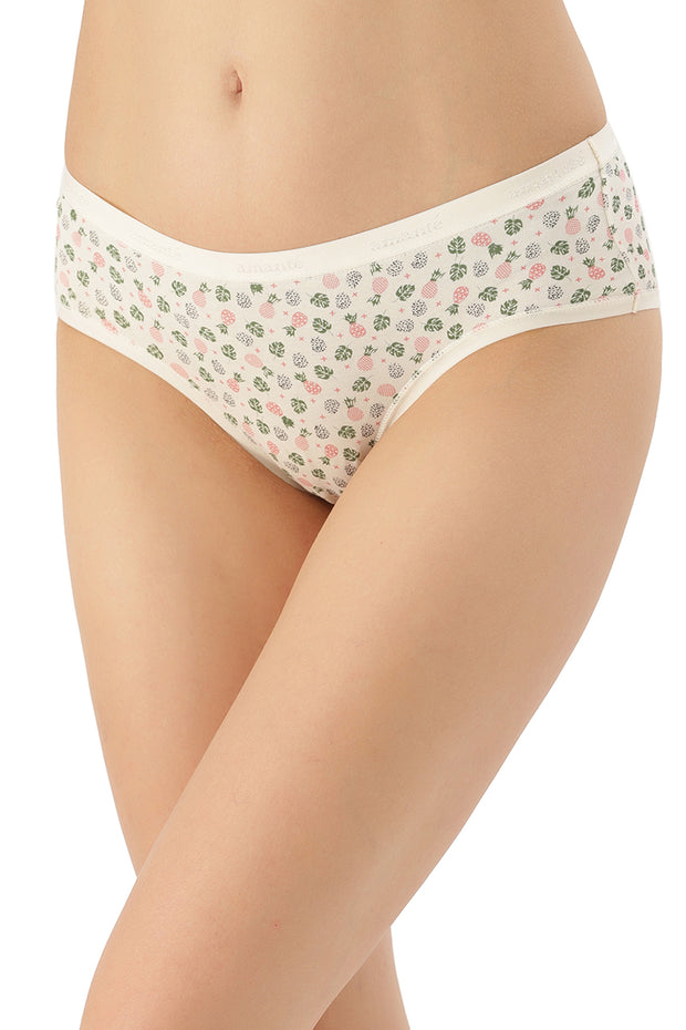 Printed Low Rise Hipster (Pack of 3)