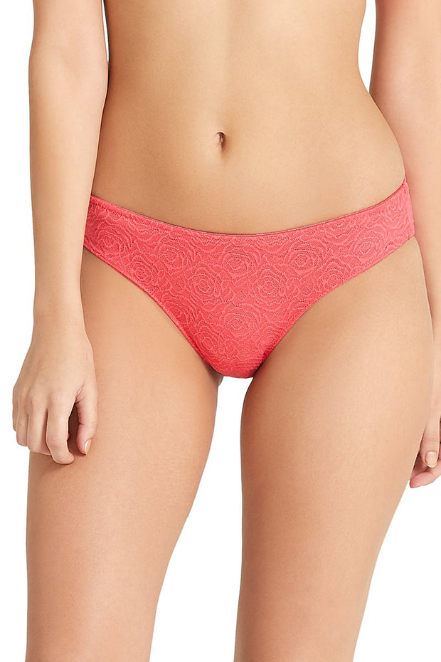 Low-Rise Bikini Panty - Rouge RedColor