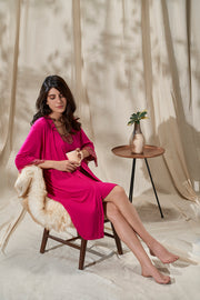 Lace Touch Sleep Robe - Granita Color