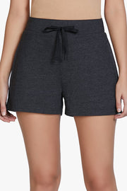 Cotton Blend Sleep Shorts