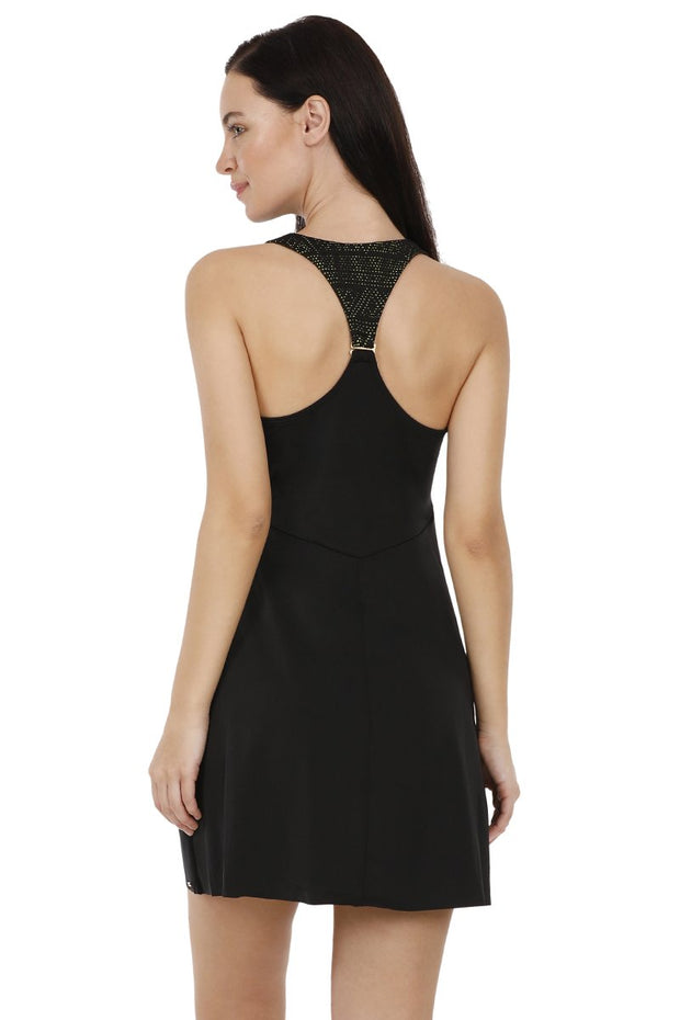 Racer Back Swim Dress