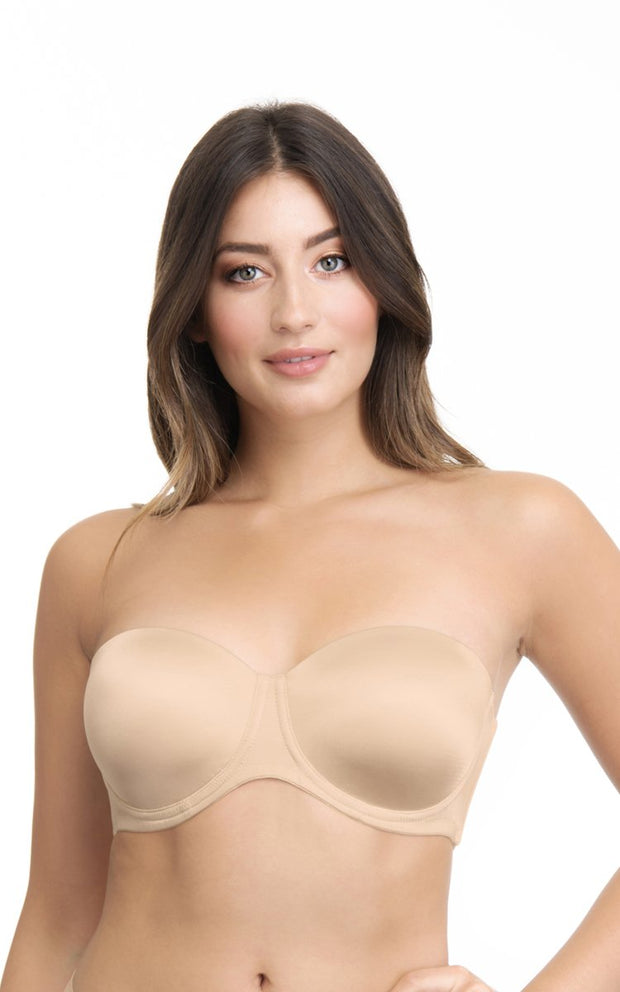Ultimo Original Strapless Padded Wired Multiway Bra - Sandalwood Color