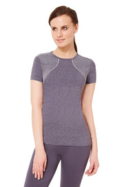 Half-sleeves Sports T-Shirt - Dark Grey Color