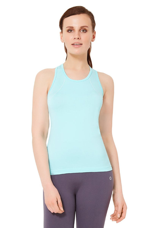 Sports Tank Top - Aruba Blue Color
