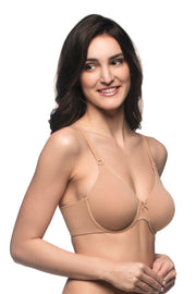 Cozy Comfort Non-Padded Wired Full Cover Bra