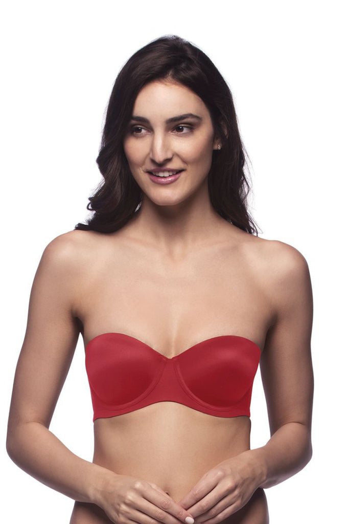 Festive Red | multiway-nude-padded-wired-bra