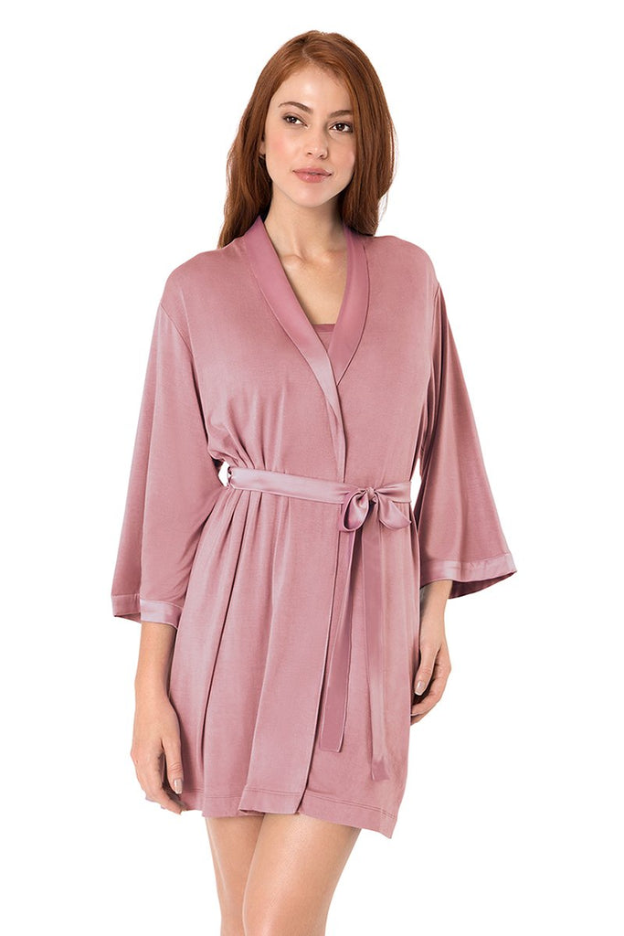 Satin Edge Sleep Robe