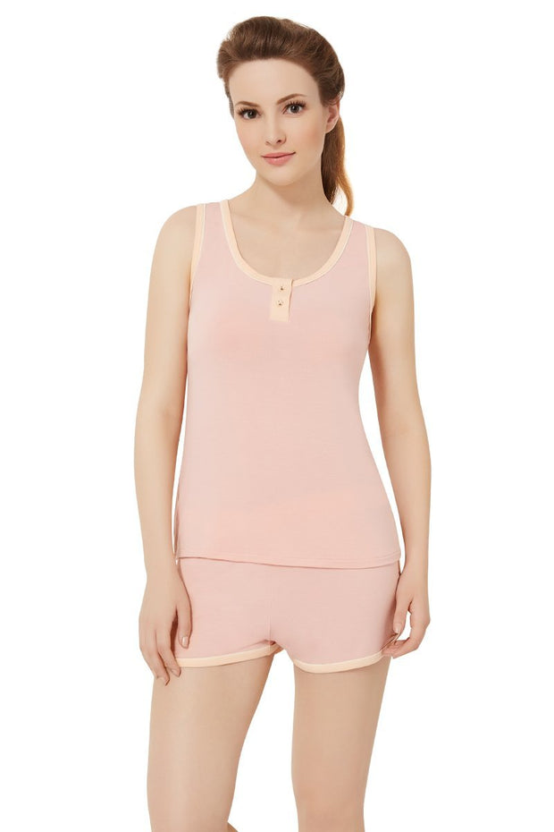 Sweet Interlude Camisole - Light Coral Color