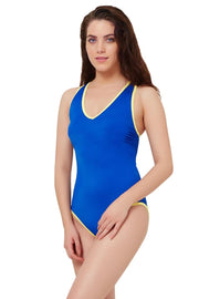 Racerback One Piece Swimsuit