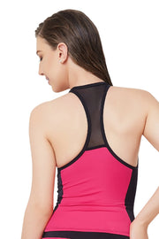 Racer Back Swim Tankini Top