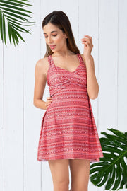 Flared Swim Dress