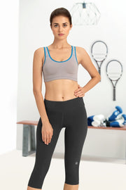 Medium Impact Non-Padded Non-Wired Racerback Sports Bra