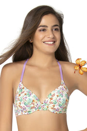 Summer's Back Convertible T-Shirt Bra - Tropical Pr Color
