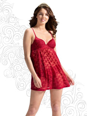 Eternal Romance Lace Babydoll