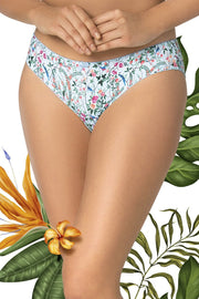 Birds Print Tropical Delight Bikini