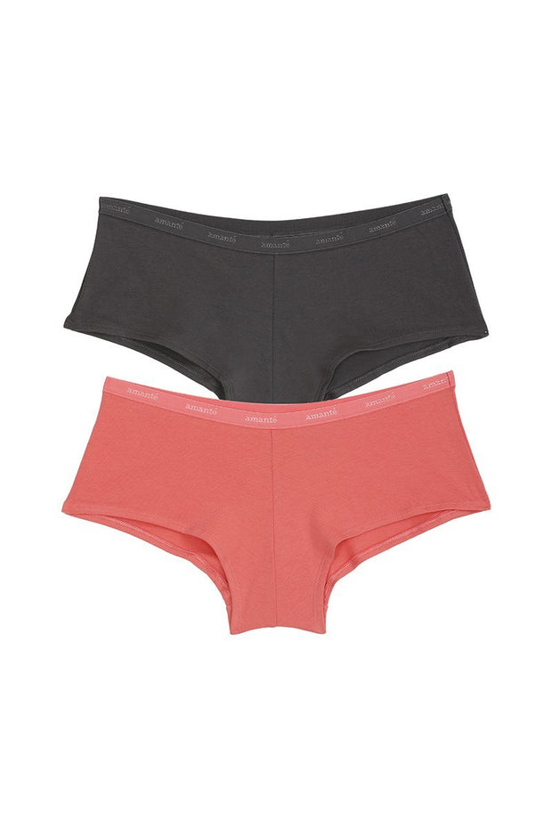 Boyshort Panty (Pack of 2) - AssortedColor