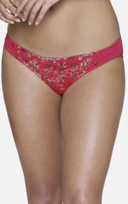 Ultimo Tropical Blossom Bikini - CranberryColor