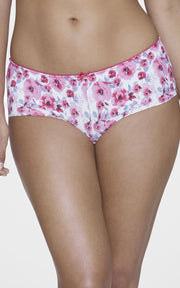 Ultimo Summer Bloom Boyshorts - Cranberry PrintColor