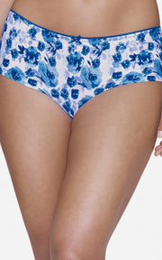 Ultimo Summer Bloom Boyshorts - Imperial Blue PrintColor