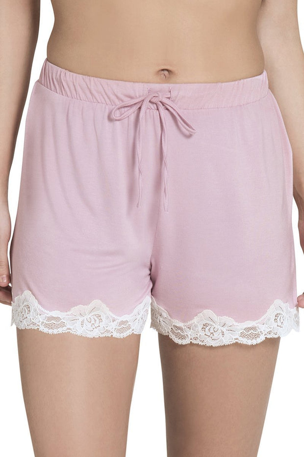 Lace Touch Shorts - Zephyr Color