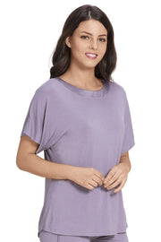 Satin Edge Pyjama Top
