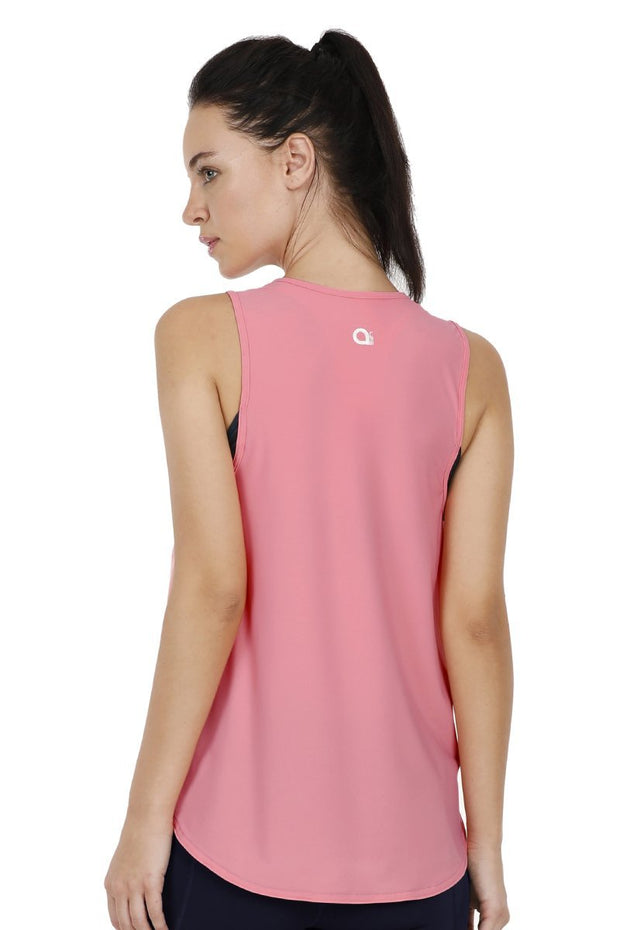 Shell Pink Smooth And Seamless Fitness Tank Top