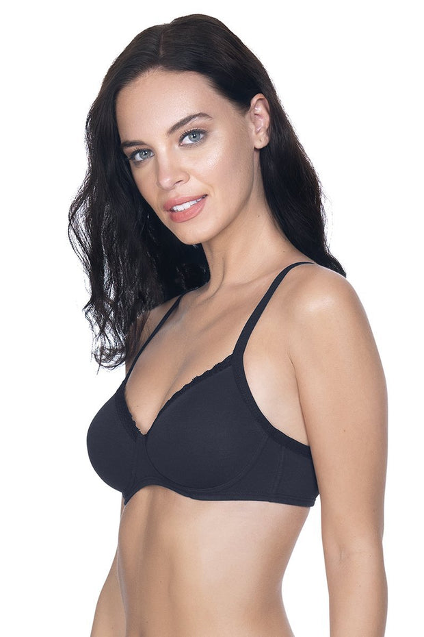 Cotton Casuals Non-Wired T-Shirt Bra