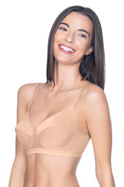 All Day Everyday Non-Wired Bra - Nude Color
