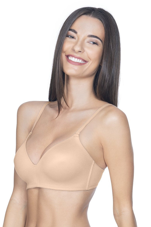Contour Comfort Padded Non-Wired Bra