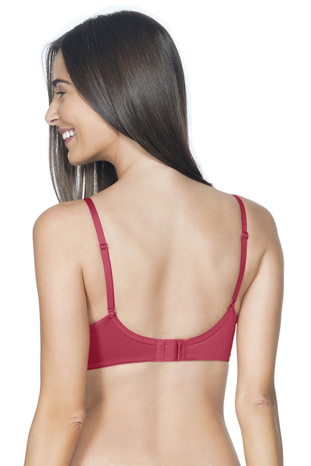 Festive Red Smooth Moves Ultimate T-Shirt Bra
