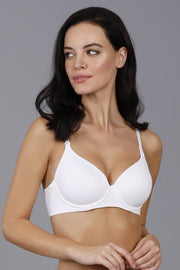 Smooth Moves Ultimate T-Shirt Bra - White Color