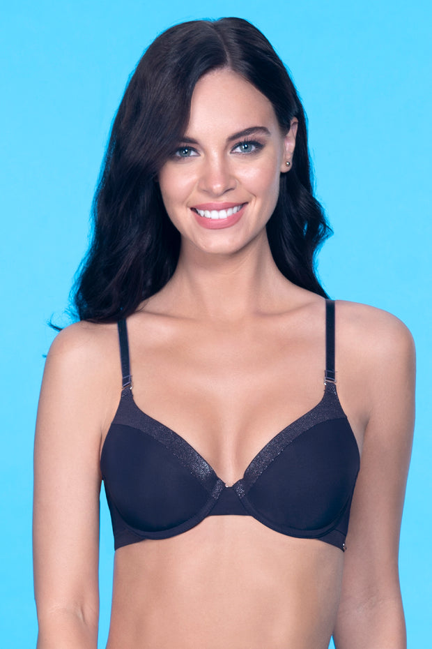 Starry Trail Padded Wired Shimmer Bra