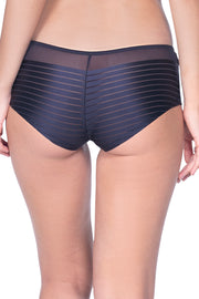 Sheer Stripes Boy shorts