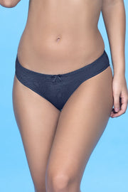 Lace Essentials Bikini Panty - Insignia BlueColor