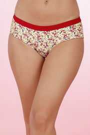 Printed Hipster Panty - Hum.Bird PrColor