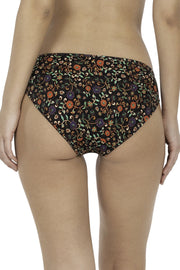 Brocade Beauty Printed Bikini Panty