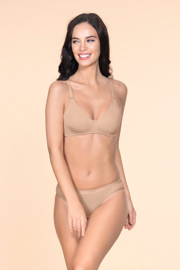 Fresh Aloe Finish Non-Wired Bra