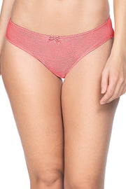 Lace Essentials Bikini Panty - D Rose - R TanColor