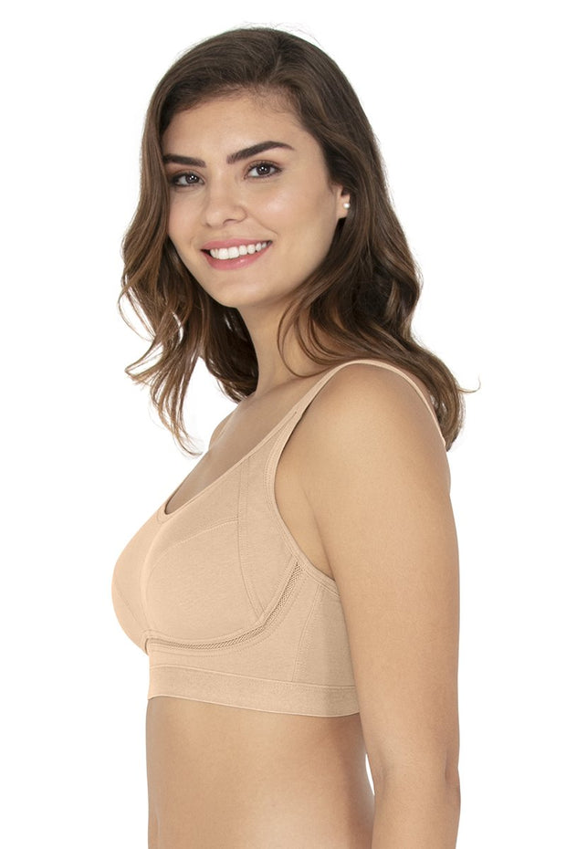 Simple Elegance Cotton Full Cover Bra