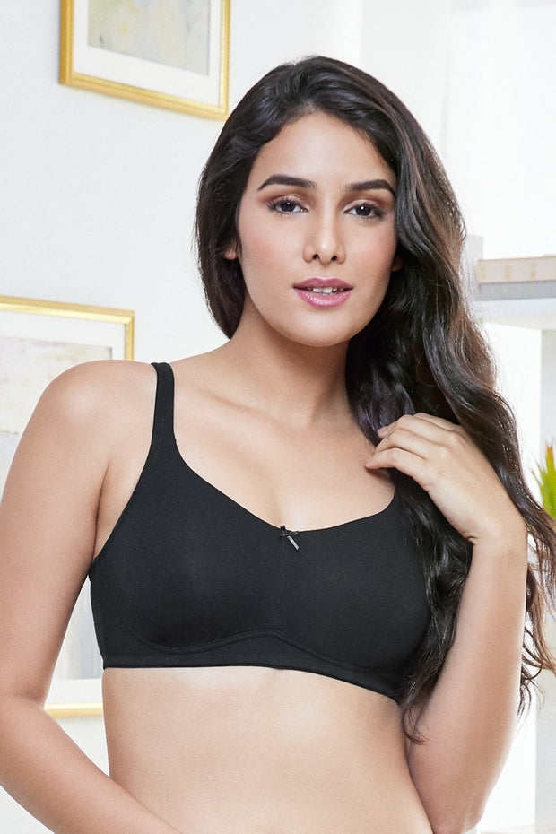 every de Elegant Concealer Full Cover Bra - Black Color