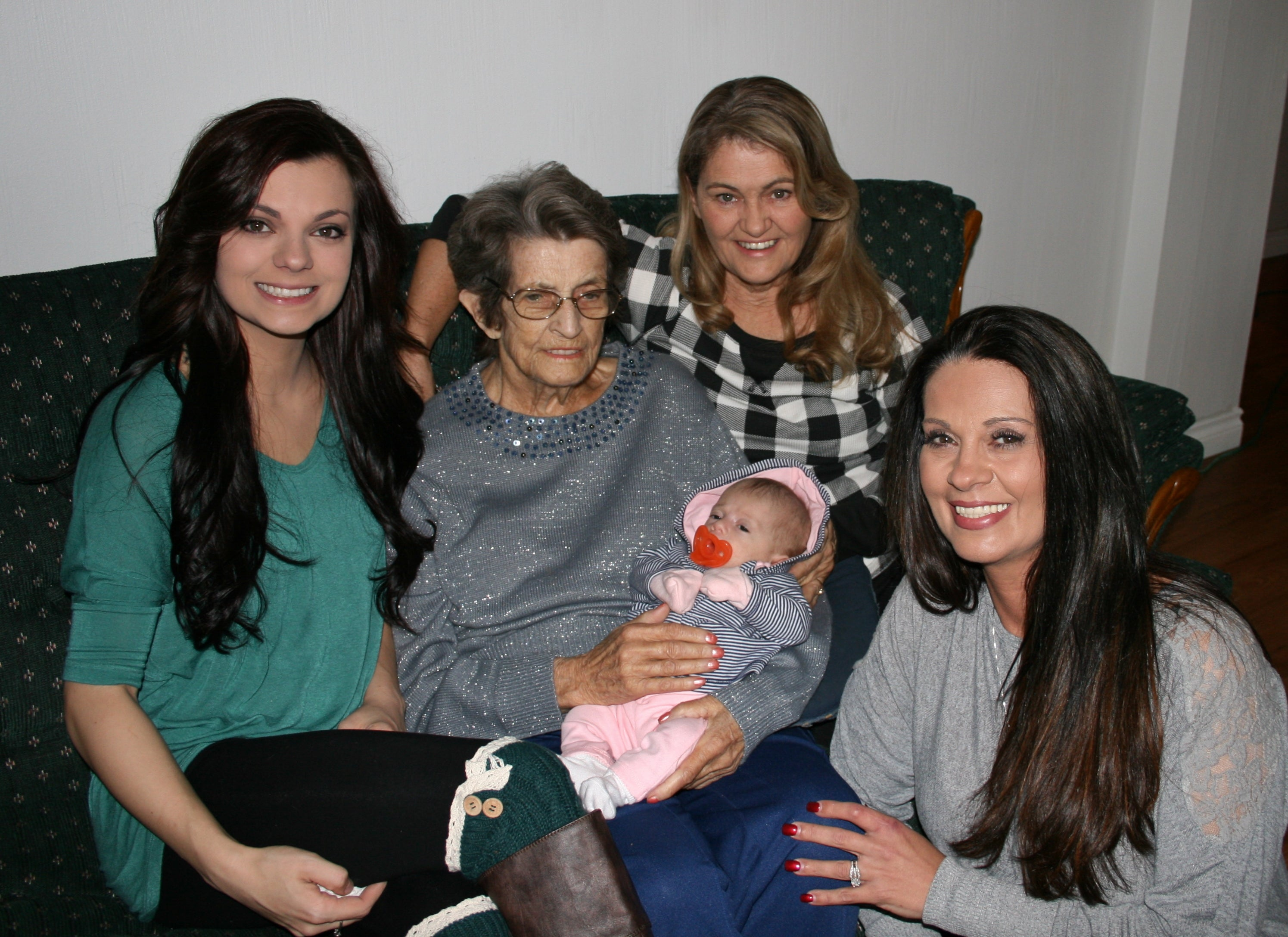 Five generations of strong women