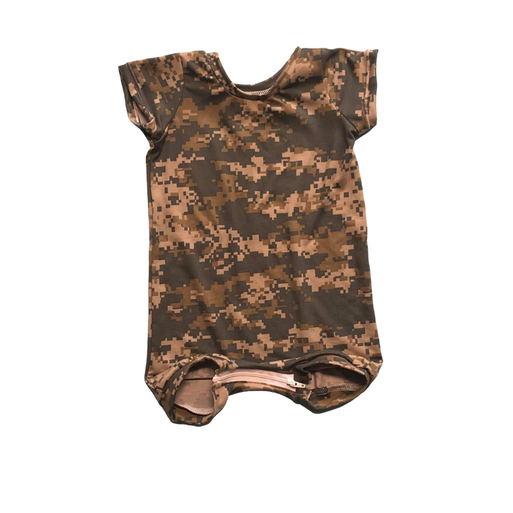 Digital Camo Summer Romper