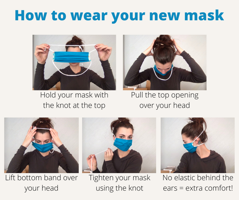 Adult Adjustable Face Masks - Zipease