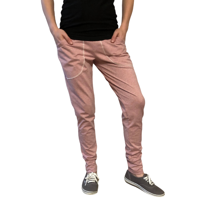 Powder Pink Joggers - Zipease