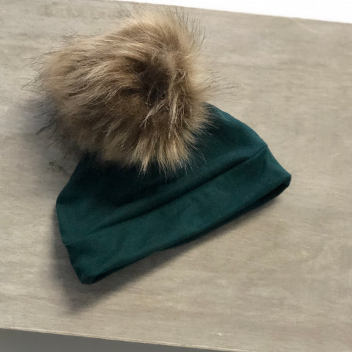 Evergreen Pom Hat - Zipease