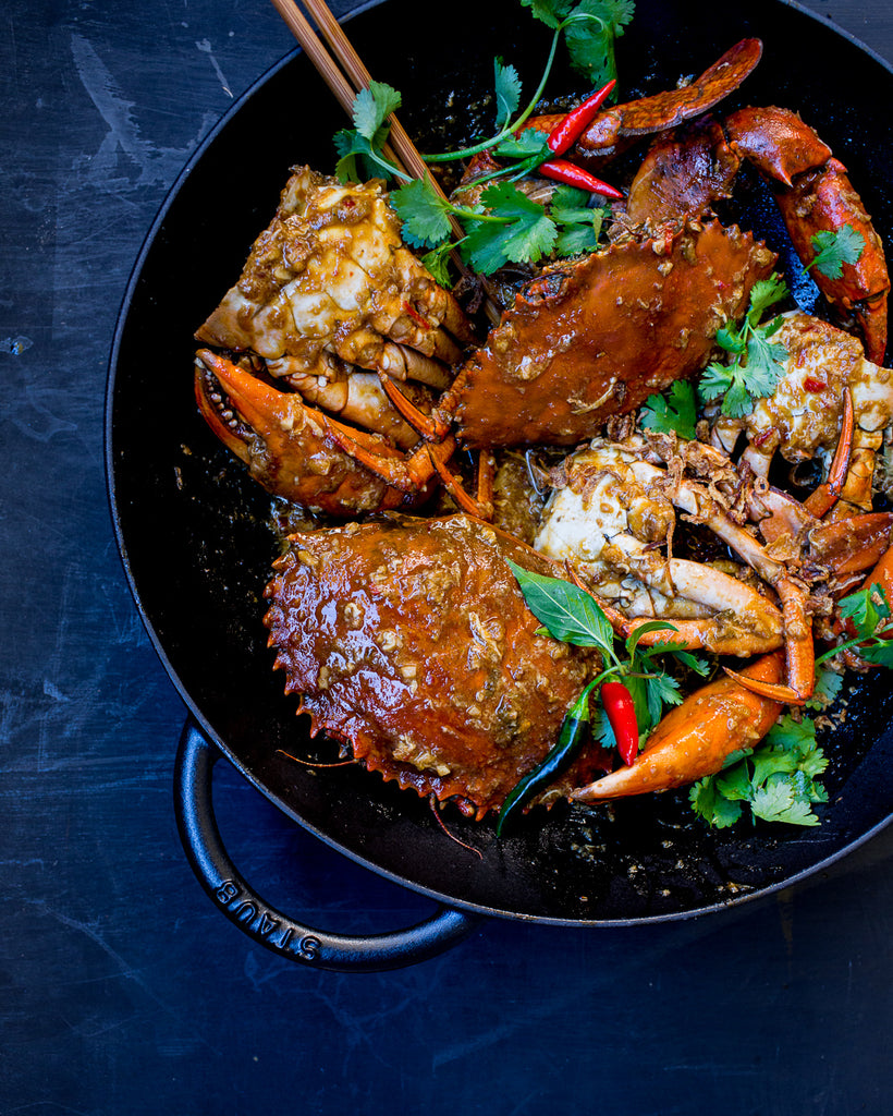 CATERINA'S CHILLI CRAB: A CELEBRATION