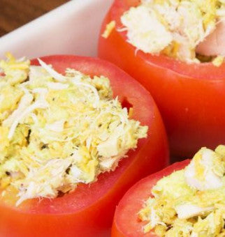 Tuna Stuffed Tomato