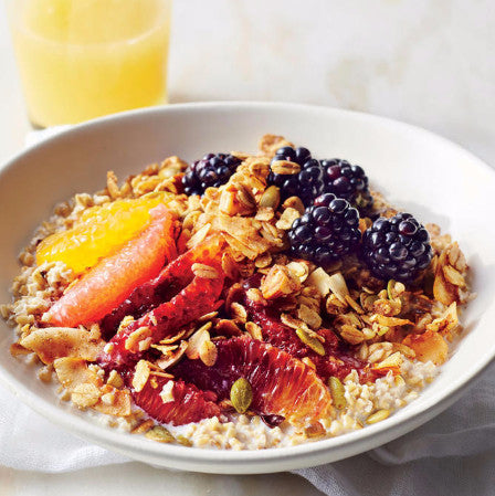 Blackberry-Citrus Granola Bowl